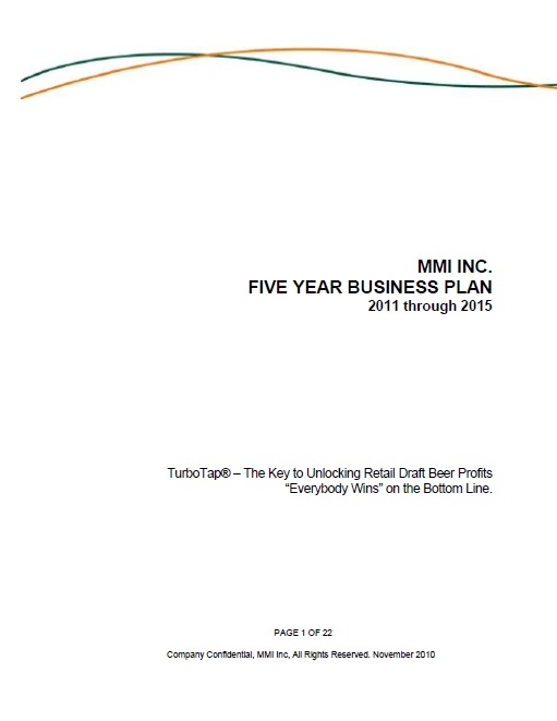 How to Write a Formal Business Plan Cover Page